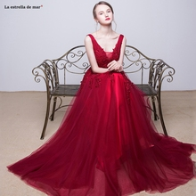 Wedding guest dress new tulle beaded sexy V neck A Line blush pink turquoise royal blue navy blue Burgundy bridesmaid dresses цены