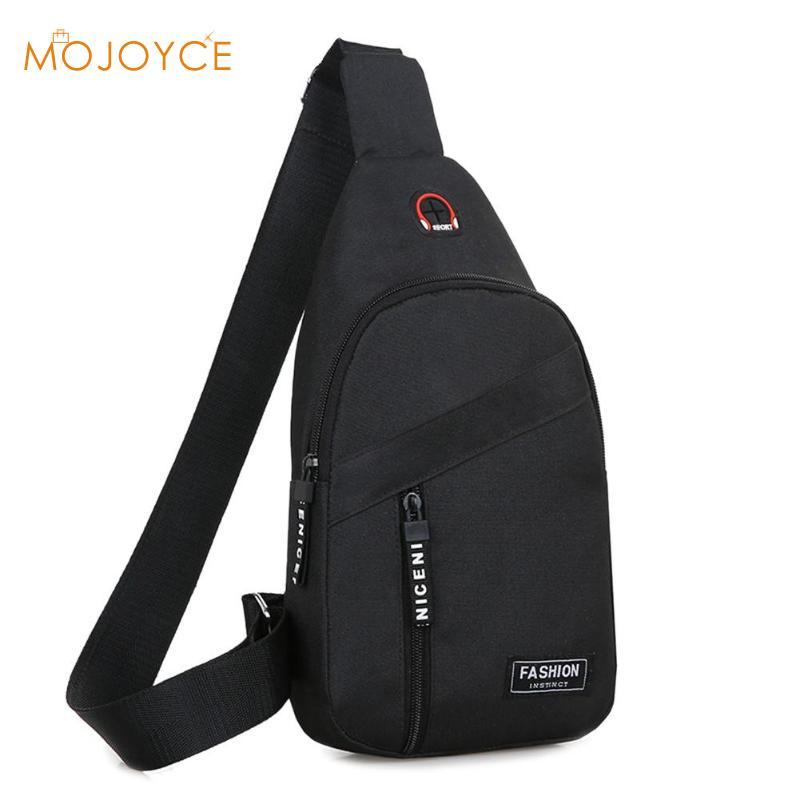 New Men Vintage Oxford Leather Satchel Shoulder Sling Chest Pack Bag Oxford Men Shoulder Messenger Crossbody Handbag