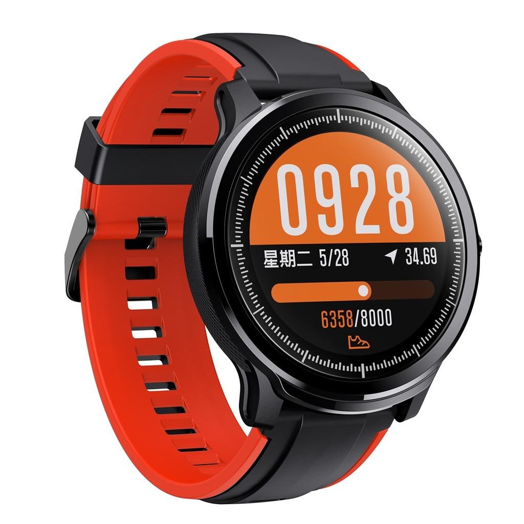 SN80 Smart Watch IP68 Waterproof Smartwatch Activity Fitness Sports Watch low-power Chips 3D Dynamic sci-fi UI For Ios