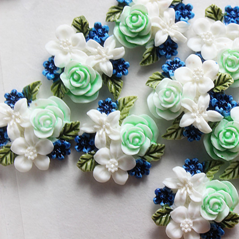 10pcs Cute Exquite White Flower High skillful Painted Resin Flatback Cabochon DIY craft art scrapbooking,24*25mm scrapbooking diy scrapbooking cabochonscrapbooking resin - AliExpress