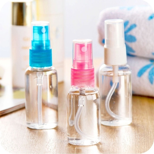 5PCS 10/20/30/50ML Transparente Kunststoff Flasche Kosmetische Gläser Parfüm Zerstäuber Leere Flasche Garten hand-gehalten Spray Bewässerung Flasche