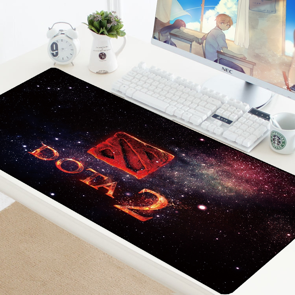 Dota 2 XXL 900x400mm Large Gaming Laptop Mousepad Grande Gamer XL Computer PC Mousepad Game Keyboard Desk Play Mats Pad For Csgo