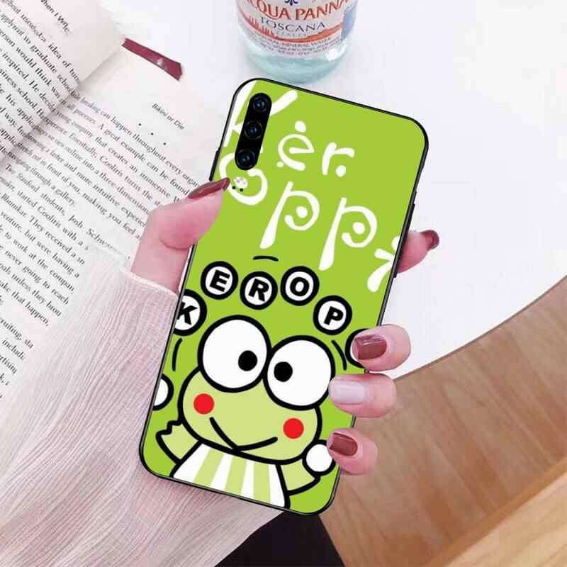 NBDRUICAI music keroppi dj frog Soft Silicone TPU Phone Cover for Huawei Honor 20 10 9 8 8x 8c 9x 7c 7a  Lite view pro