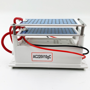 Image 2 - 24 جرام 10 جرام المحمولة مولد أوزون 220 فولت 110 فولت 12 فولت لتنقية الهواء المعالج بالأوزون معقم للاستخدام المنزلي أو السيارة