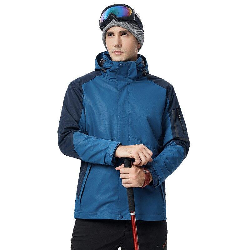 2019 hommes Snowboard veste à capuche chaud ski mâle manteaux polaire coupe-vent homme neige vêtements Sport Snowboard hommes snowsuit