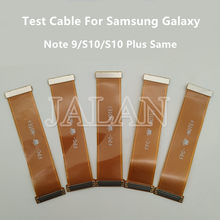 3pcs LCD Test Cable Display Extended Flex Cable Repair For Samsung Note 9 S10 S10E S10 Plus G950 G955 G960 G965 N960 G973 N950(China)