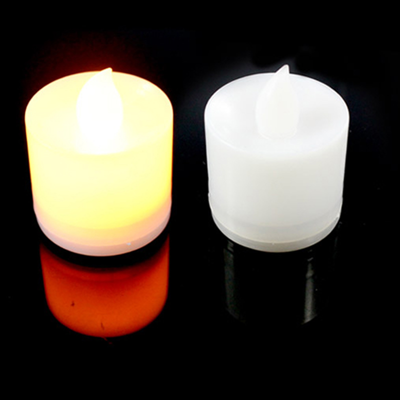 Creative LED Flash Electronic Flameless Candle Simulation Flame Light Home Wedding Birthday Decoration Safety Home Decoratio