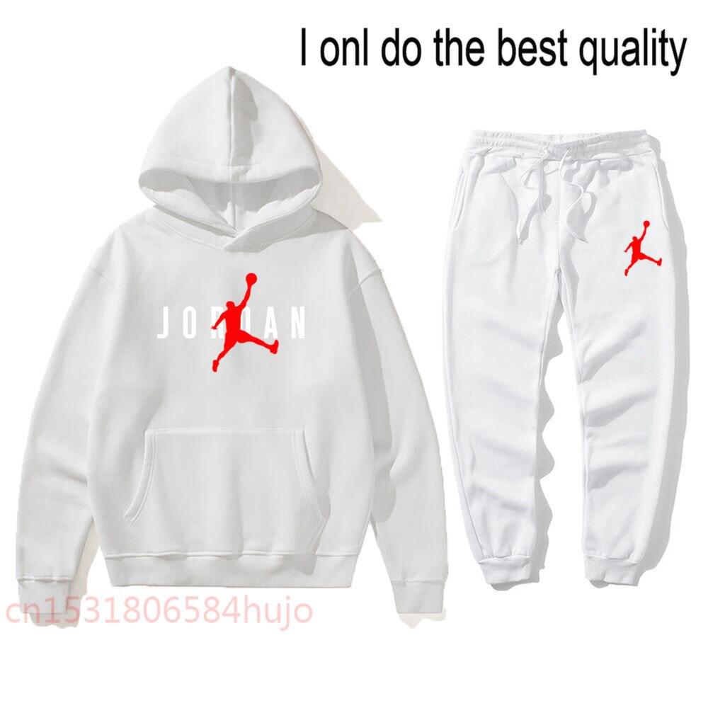 Новинка 2021, лидер продаж, брендовая толстовка, мужская спортивная одежда, флисовая зимняя модная теплая одежда для отдыха Jordan-пуловер, женск...