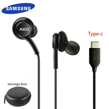 samsung Earphones Type c In ear with Mic Wire EO IG955 AKG Headset for Galaxy samsung S20 note10/note10+ huawei smartphone