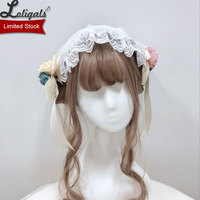 Miss Lolo ~ Sweet Lolita Headband with Floer Decor by Alice Girl ~ Limited Stock