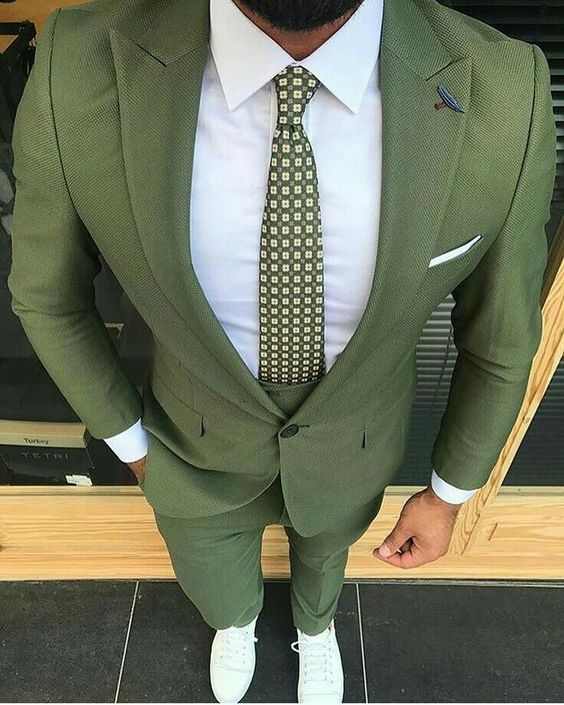 Fashion-Green-Men-Suits-Slim-Fit-Street-Wear-Groom-Tuxedos-Wedding-Suits-For-Men-Custom-Made