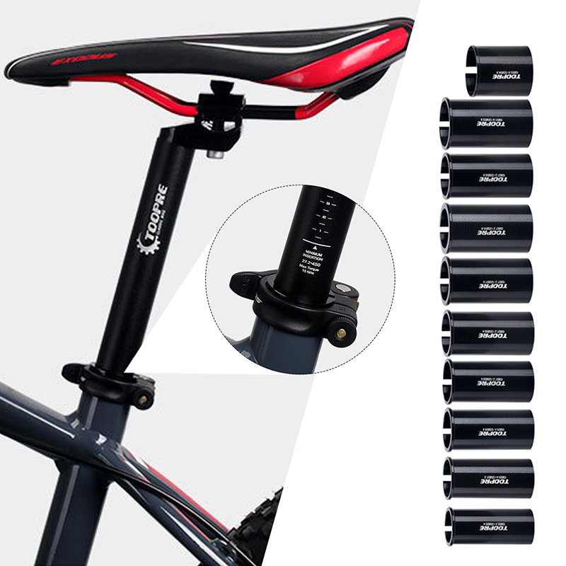Details about  /Alloy Bike Seat Post Tube Seatpost Reducing Sleeve Adapter Adjust Diameter/_CN