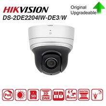 Hikvision IP PTZ Камера PTZ Скорость купол DS-2DE2204IW-DE3/W 2-дюймовый 2MP 4X зум приведенный в действие DarkFighter ИК сети Скорость купольный IPC