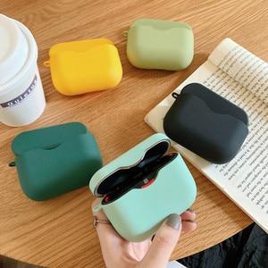 Image 3 - אוזניות מקרה עבור Sony WF 1000XM3 פשוט מוצק צבע אלחוטי Bluetooth אוזניות מגן כיסוי מחשב קשה פגז טעינת תיבה