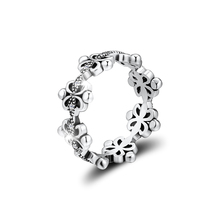 Rings CKK Original Genuine 925 Sterling Silver Classic Elegance Ring Compatible With Europe Jewelry Fashion Wedding Bands