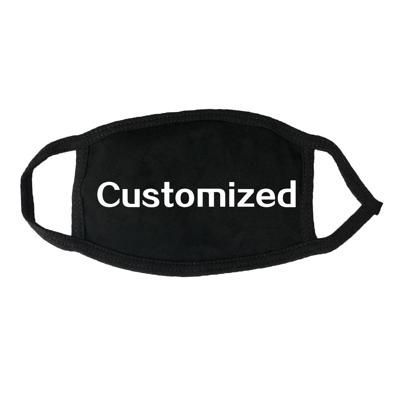 Customized Masks For Adults Children Pure Cotton Custom Made Mask Men Women