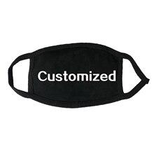 Máscaras personalizadas para adultos Niños Algodón puro Máscara de tela