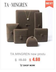 Ta mingren Новая высококачественная модная шкатулка для ювелирных