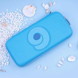 Image 1 - Nintend מתג נייד מקרה כחול חמוד אחסון תיק PU עמיד למים כיסוי מעטפת עבור Nintendo מתג לייט משחק קונסולת אבזרים