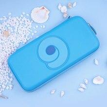 Nintend Schakelaar Draagbare Case Blauw Leuke Opbergtas Pu Waterdichte Cover Shell Voor Nintendo Schakelaar Lite Game Console Accessoires