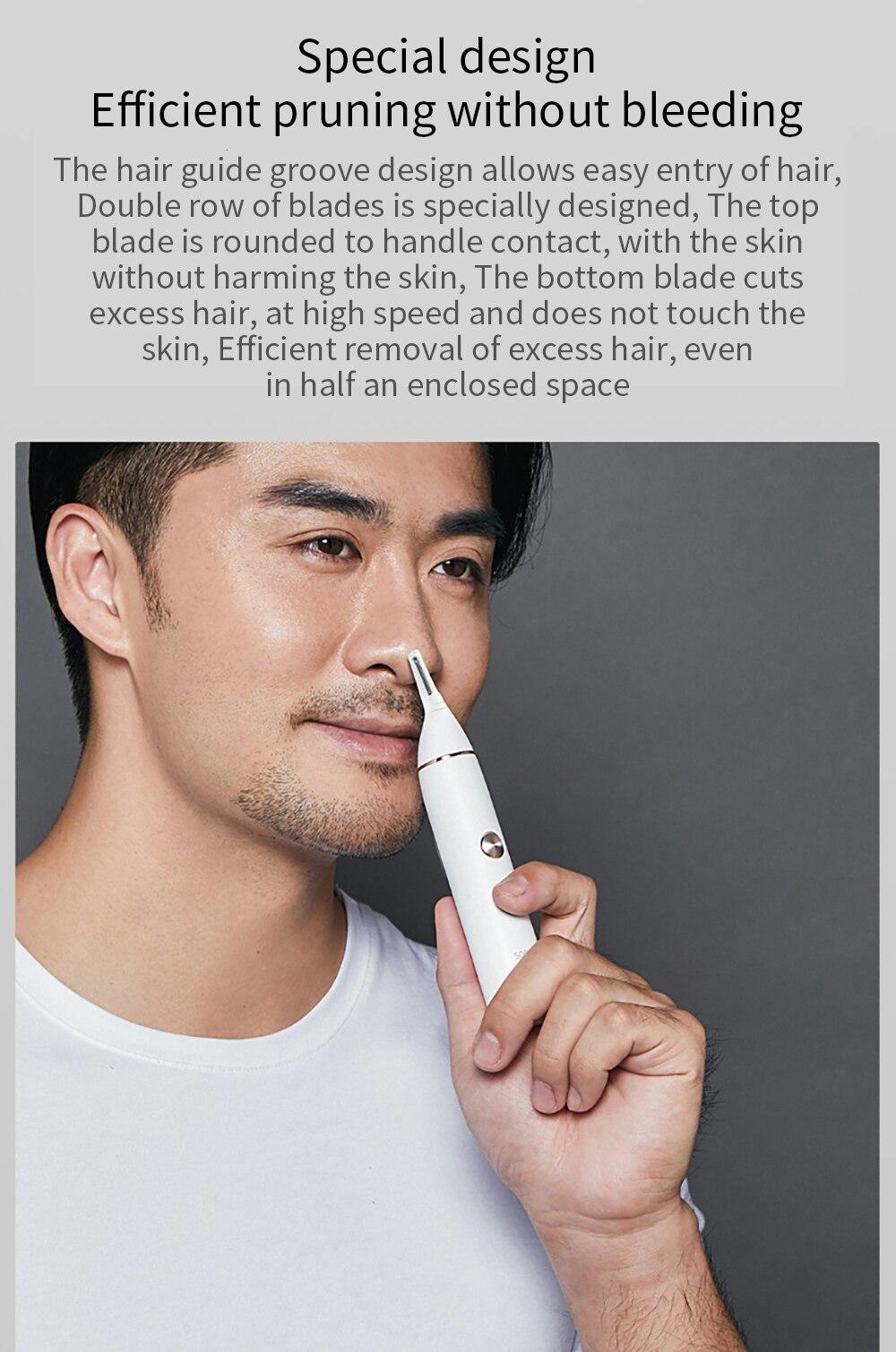 XIAOMI SOOCAS Nose Hair Eyebrow Trimmer 7