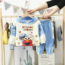Childrens Clothing Boys Spring Suits 2020 New Baby-year-old Girls Two-piece Clothes Mickey Boutique Kids Autumn roupas Cotton 6p510 wholesale baby kids boutique clothing lots
