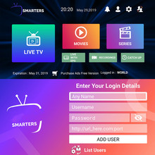 Stable Europe Turkey French King Ott Plus compatible M3U smart tv Android Pc TV with no XXX IOS TV Stick