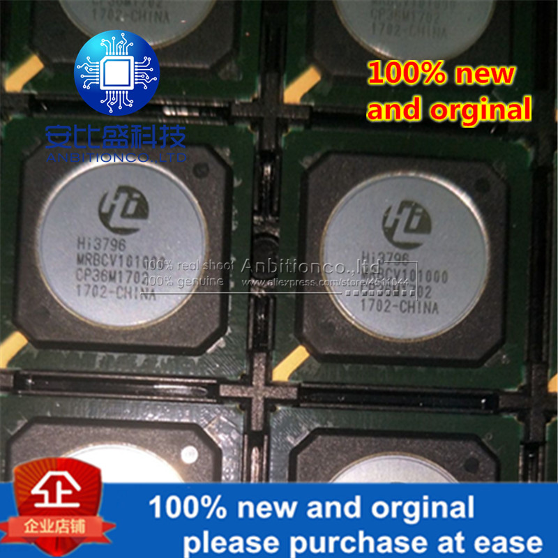 2-5pcs 100% New And Orginal HI3796MRBCV101000 HI3796 BGA (100% Good Quality+100% Can Work Perfectly) In Stock
