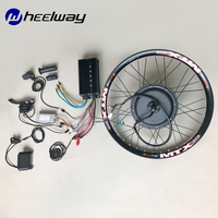 19''242672v 5kw high speed electric motorcycle DIY wheel motor kit wide 21.5mm72v 5000w electric bicycle conversion kit