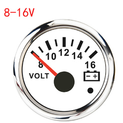 8-16V/18-32V Voltmeter Volt Meter Gauge New Car Boat Voltage Gauges With Backlight Fit For Truck Motorcycle Yacht Marine 12V/24V