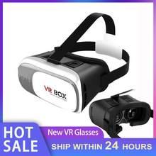 Portátil 4.7-6 polegada do telefone móvel vr óculos caixa filme 3d óculos fone de ouvido capacete suporte miopia usuários dentro de 600 graus dropship