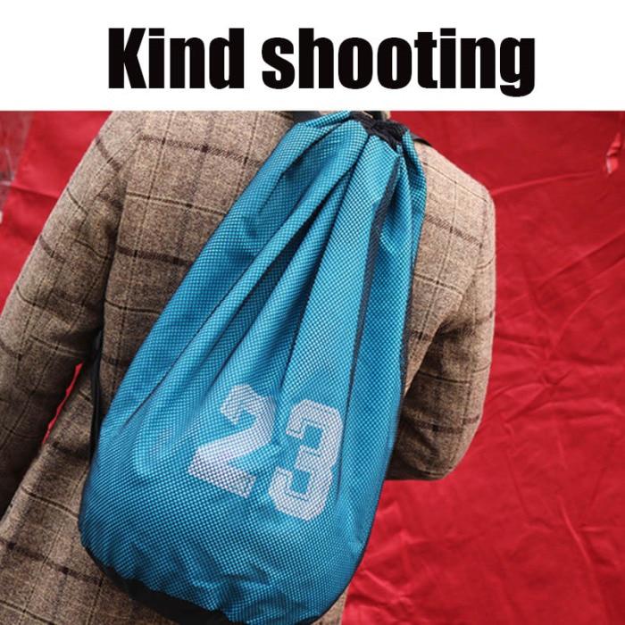 Esportes bola mochila basquete futebol armazenamento net
