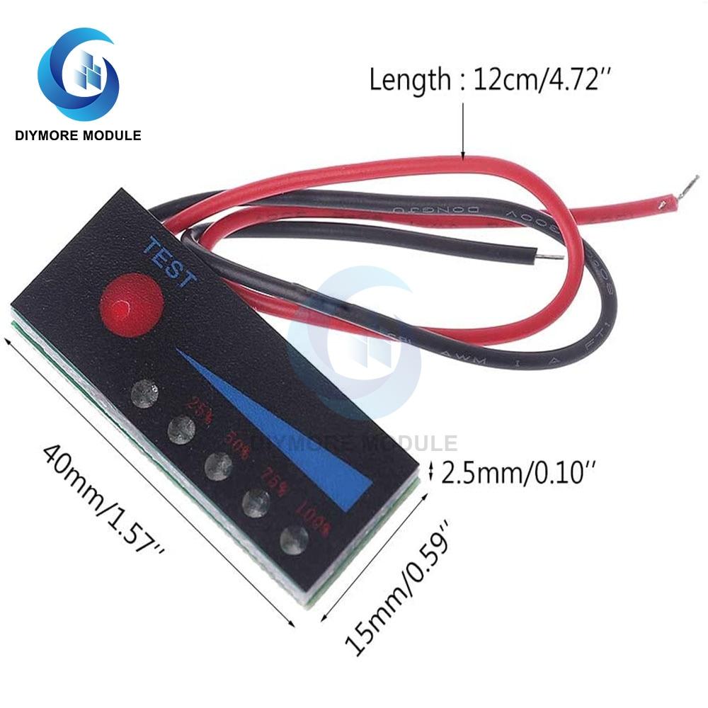 BMS 1S 2 3S 4S 5S 6S фотоаппаратов моментальной печати 7S литий LiFePO4 Батарея Ёмкость Тесты Мощность индикатор уровня заряда светодиодный светильник Дисплей для электрического инструмента заряда|Интегральные схемы|   | АлиЭкспресс