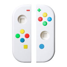 מגן מקרה וכפתורים עבור Nintend מתג שמאל ימין בקר NS NX קונסולת החלפת צבעוני אחיזת אגודל כפתור כיסוי