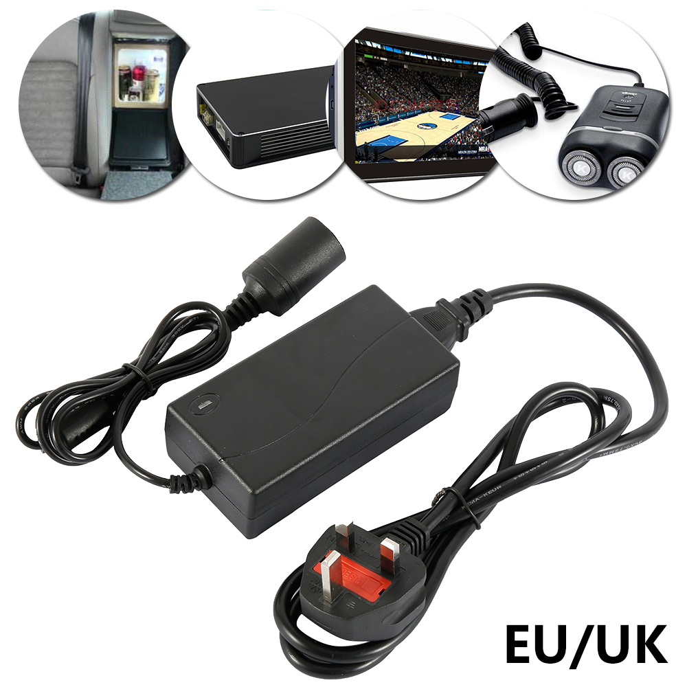 240V Mains To <font><b>12V</b></font> DC <font><b>Cigarette</b></font> Lighter Voltage Converter Power Adapter (10A) 120W Universal <font><b>Car</b></font> <font><b>Charger</b></font> Power Supply image