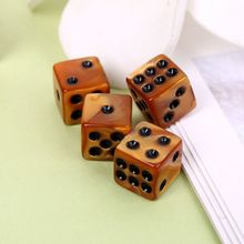 25 Pcs/Set Game Dice Number 12 Square Stripe Creative Dices Party Club Games Lover Gifts For D & D Dungeon Desktop Table Games