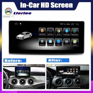 Image 2 - Ekran dotykowy android samochodowy odtwarzacz multimedialny dla Mercedes Benz GLA klasa X156 2016 ~ 2019 wyświetlacz Stereo nawigacja gps