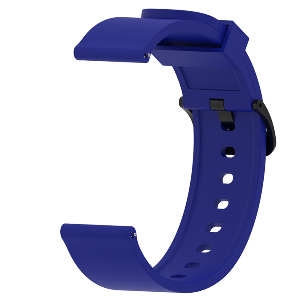 Multi-color Bluetooth Silicone Wristband Accessories For Huami Amazfit BIP Youth Smart Watch Sport Strap 20mm