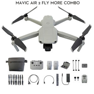 DJI Drone Flight-Time Fly-More-Combo 4k Camera 1080p-Video Air 2 with 34-Min 10km Transmission-Newest