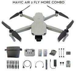 Дрон DJI Mavic Air 2 /Mavic Air 2 fly more combo с камерой 4k 34-мин время полета 10км 1080p новейшая передача видео
