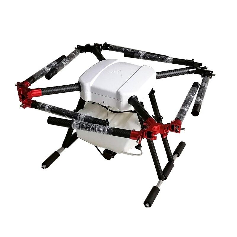 Aéronef sans pilote (UAV) agricole 8 axes 10 litres pulvérisation de pesticides