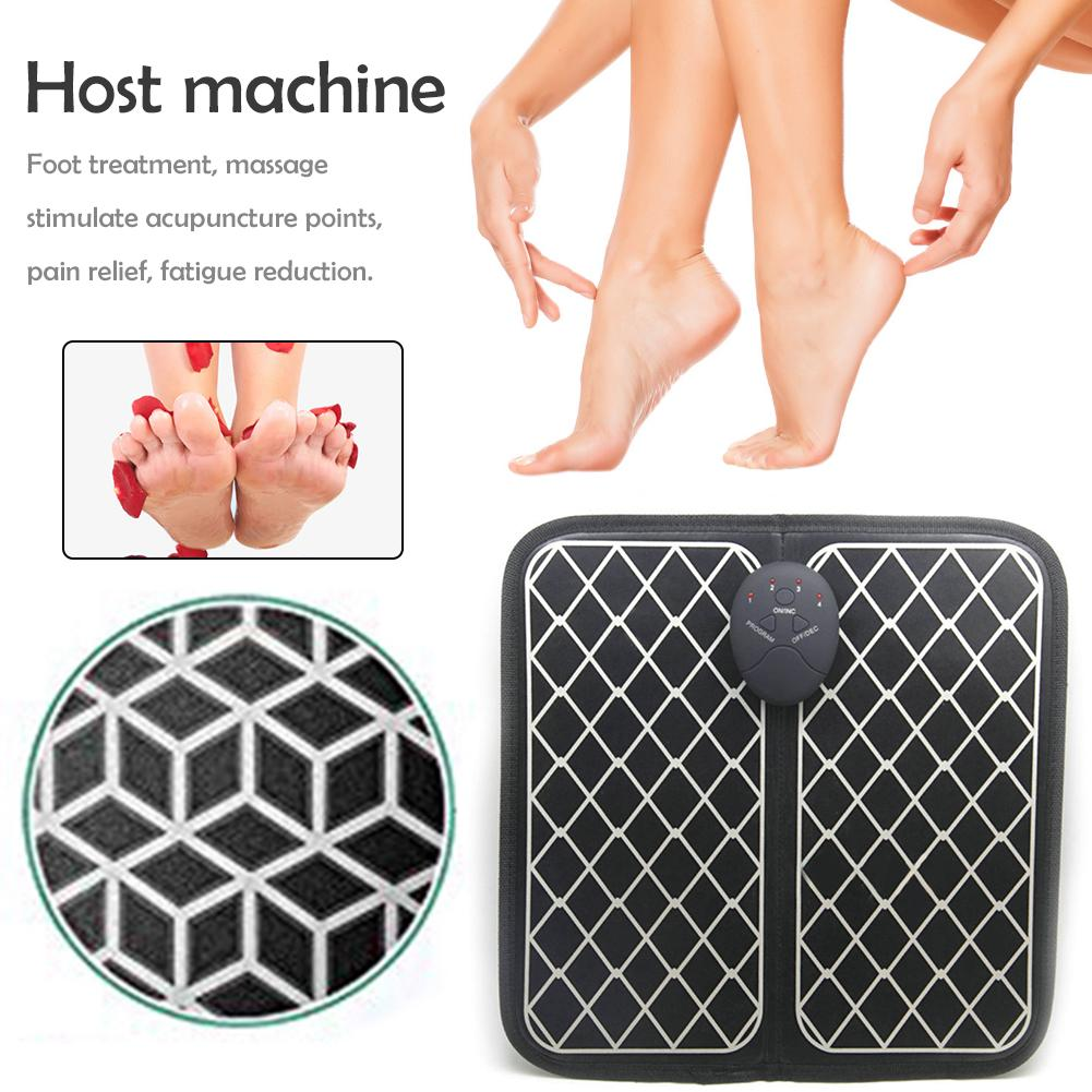 Electric Foot Massager Blood Circulation Machine Full Automatic Massage For Men Women Massage Tools And Physiotherapy Supplies