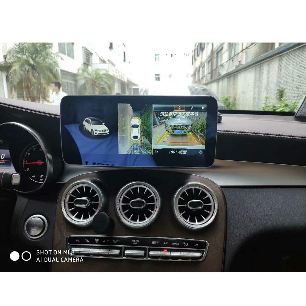 10.25 pouces 4 + 64G Android affichage pour Mercedes Benz GLC C classe W205 2015-2018 voiture Radio écran avec GPS Navigation Bluetooth - 4