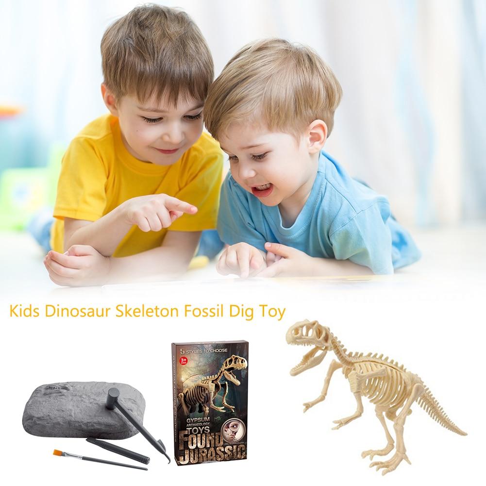 Dinosaur Fossil Excavation Toy Kit