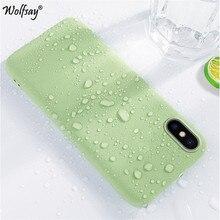 For Xiaomi Redmi Note 8 Pro Case Soft Liquid Silicone Phone Cover