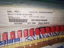 10PCS NEW RED WIMA MKS2 50VDC 4.7UF 50V475 4U7 PCM5 475/50V hot sale MKS2B044701K00 475 50V
