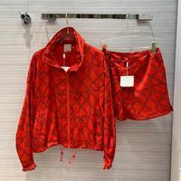 2 Pieces Suits High end Brand Runway Famous Design Jacket Coat Women Bomber Zipper Pockets Casual Loose Coats 2020 Spring Summer