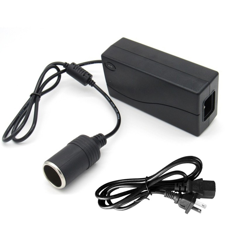 Car Inverter 100V 220V To 12V Car Cigarette Lighter Converter Power Adapter Home Car Dual Use Socket - 2