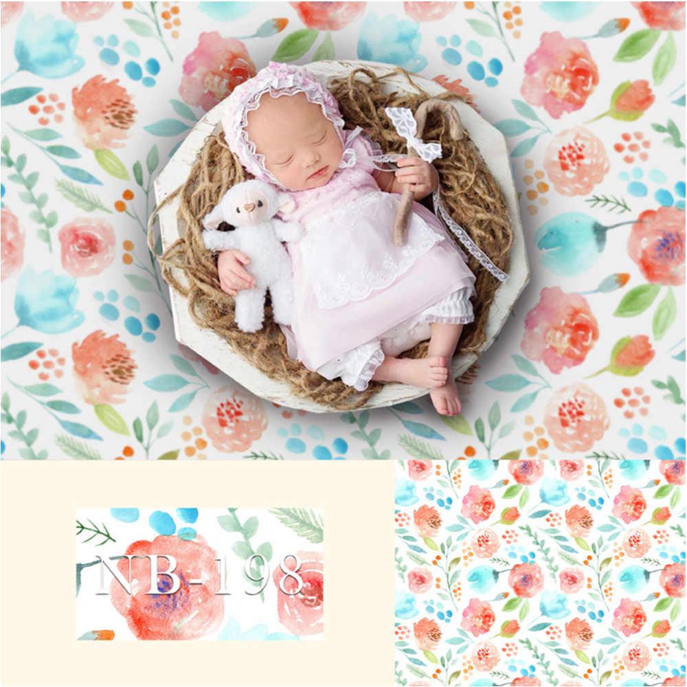 Fotografia tło noworodka urodziny dziecka tło strony dla Photo Studio kwiaty streszczenie dzieci portret kwiatowy Photocall