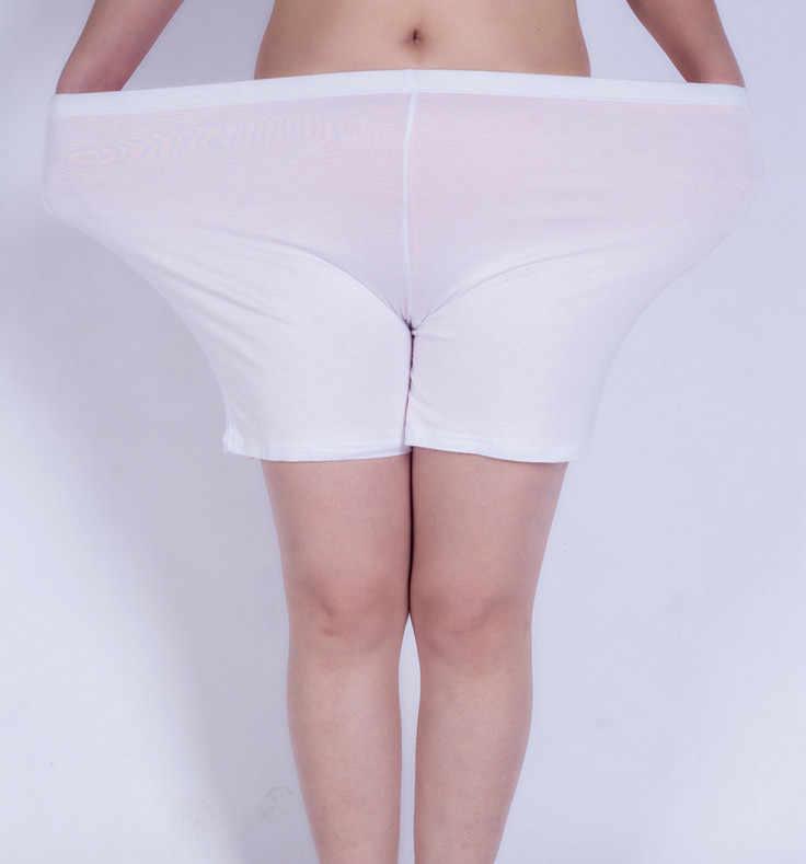 אופנה 5-6xl בתוספת גדולה גודל נשים מודאלי אנטי-חשיפה בתוספת גודל קצר מכנסיים גדול התיכון גיל אמא גבוהה מותניים תחתונים